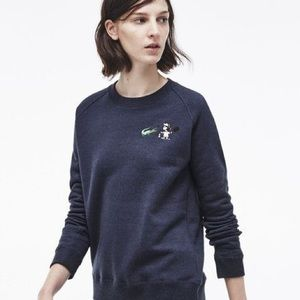 Lacoste PEANUTS SPECIAL EDITION LUCY BLUE SWEATER